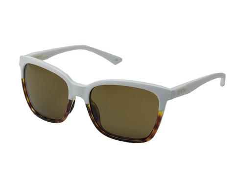 Smith Optics - Colette (White Fade Tortoise/Brown Carbonic TLT Lenses) Fashion Sunglasses