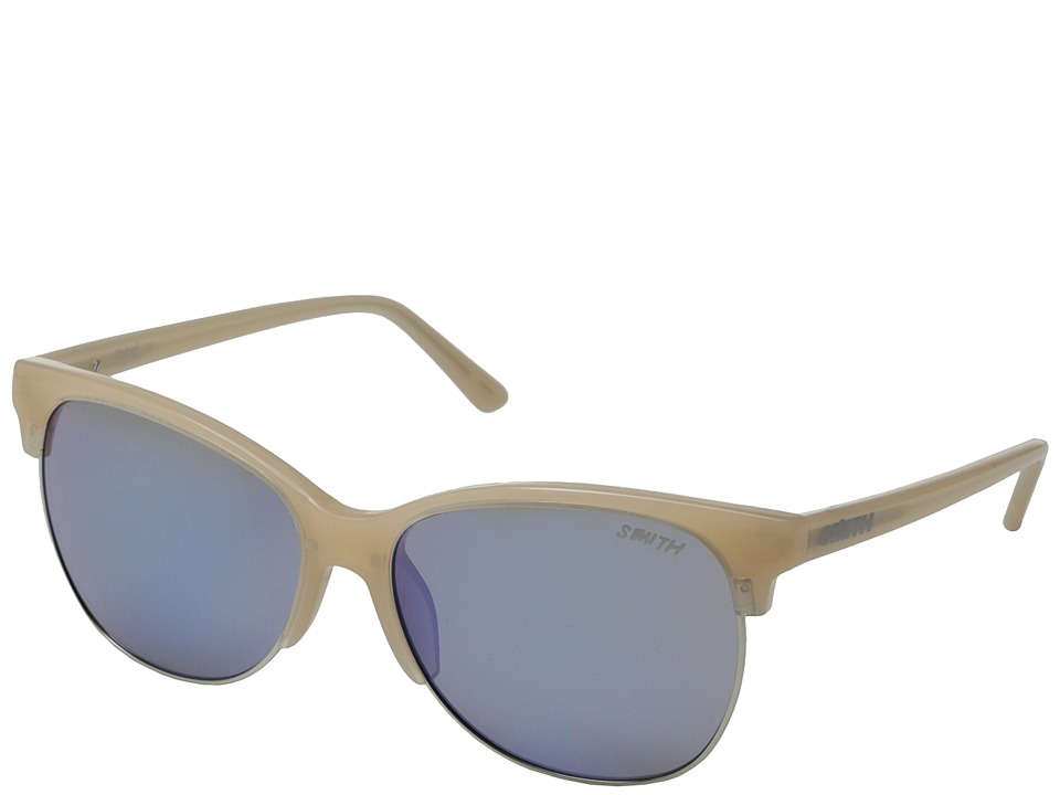 Smith Optics - Rebel (Nude/Blue Flash Mirror Carbonic TLT Lenses) Fashion Sunglasses