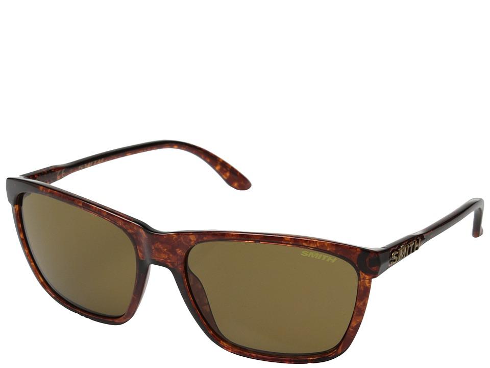 Smith Optics - Delano (Vintage Havana/Brown Carbonic TLT Lenses) Fashion Sunglasses