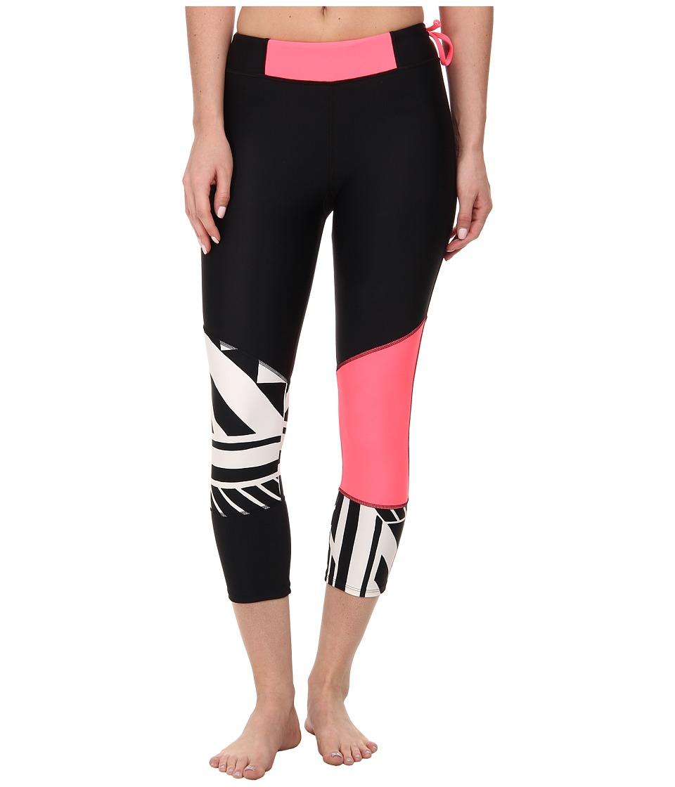 Body Glove - Kalani Surf Capris (Black) Women's Swimwear