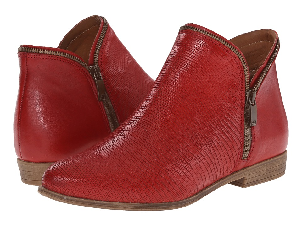 Eric Michael - Ireland (Red) Women's Zip Boots
