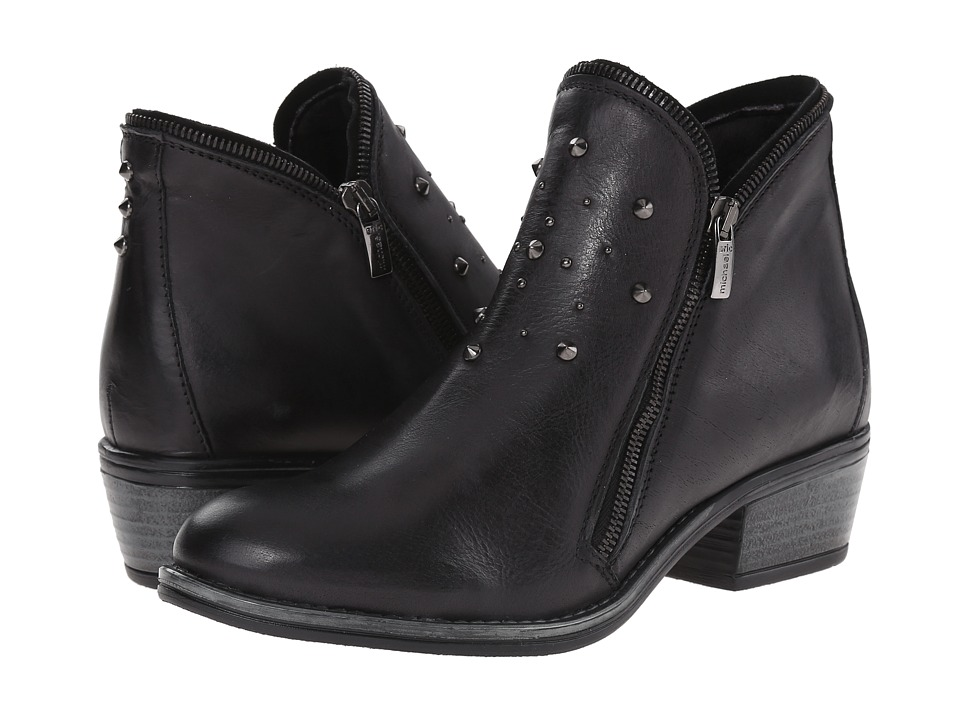 Eric Michael - Astro (Black) Women's Zip Boots