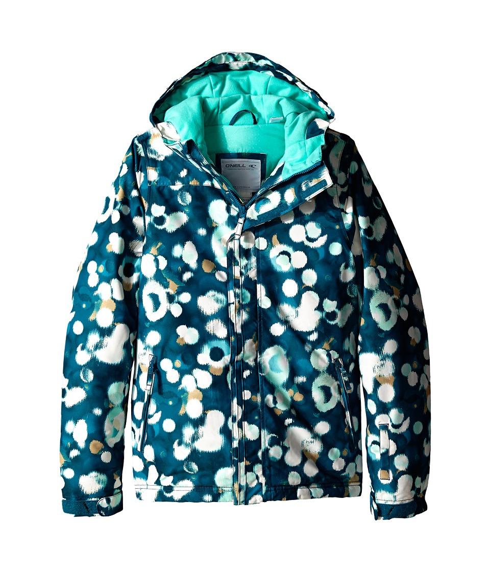 O'Neill Kids - Scribble Jacket (Little Kids/Big Kids) (Blue/Beige) Kid's Coat