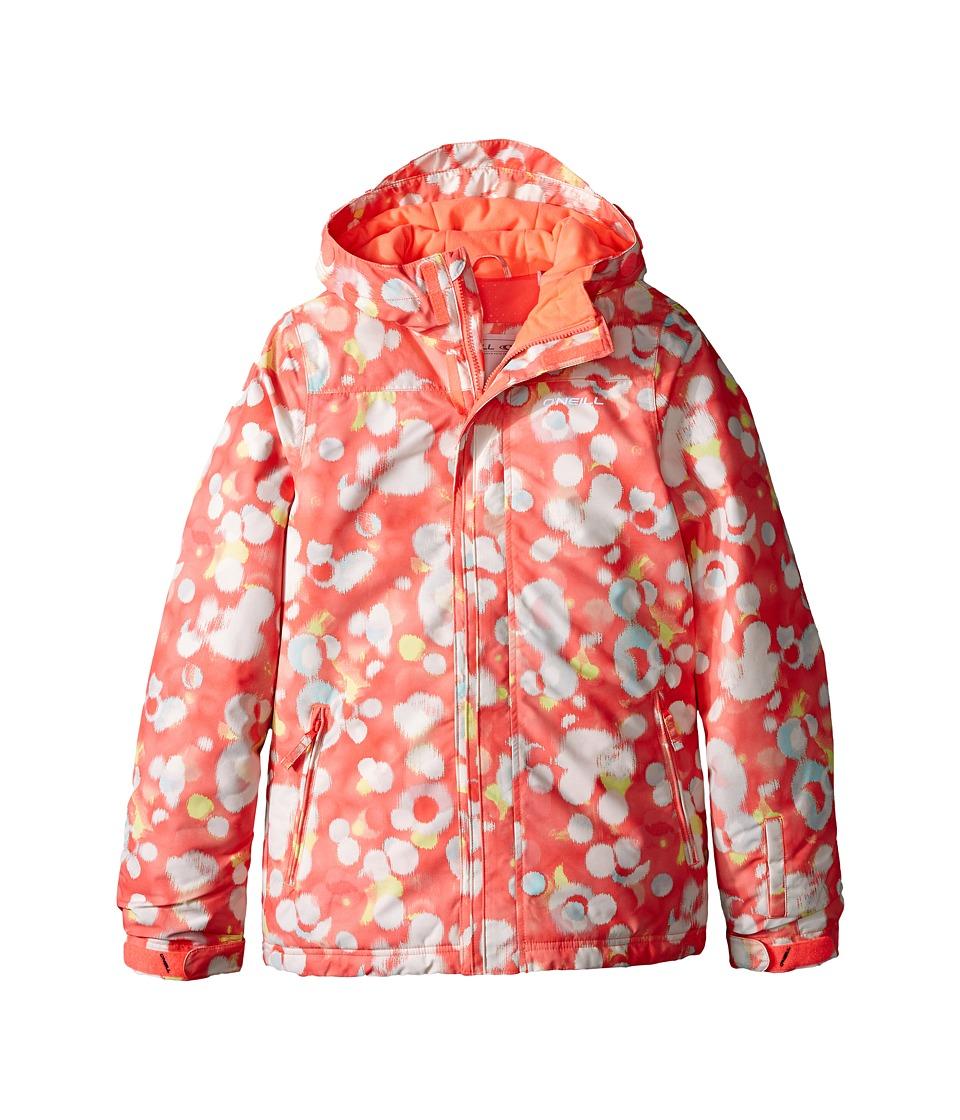 O'Neill Kids - Scribble Jacket (Little Kids/Big Kids) (Pink) Kid's Coat