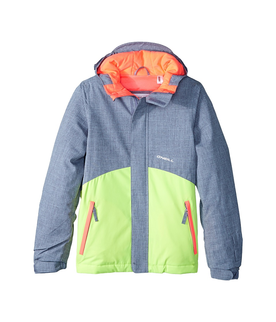 O'Neill Kids - Coral Jacket (Little Kids/Big Kids) (Siberian Grey) Kid's Coat