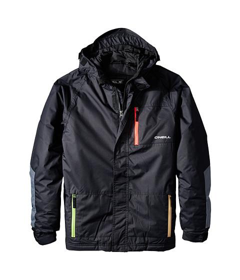 O'Neill Kids - Flux Jacket (Little Kids/Big Kids) (Black Out) Kid's Coat