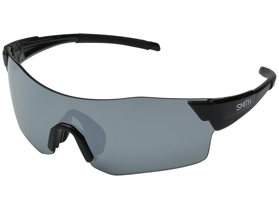 Smith Optics - Pivlock Arena (Matte Black/Super Platinum/Lgnitor/Clear Carbonic TLT Lenses) Fashion Sunglasses