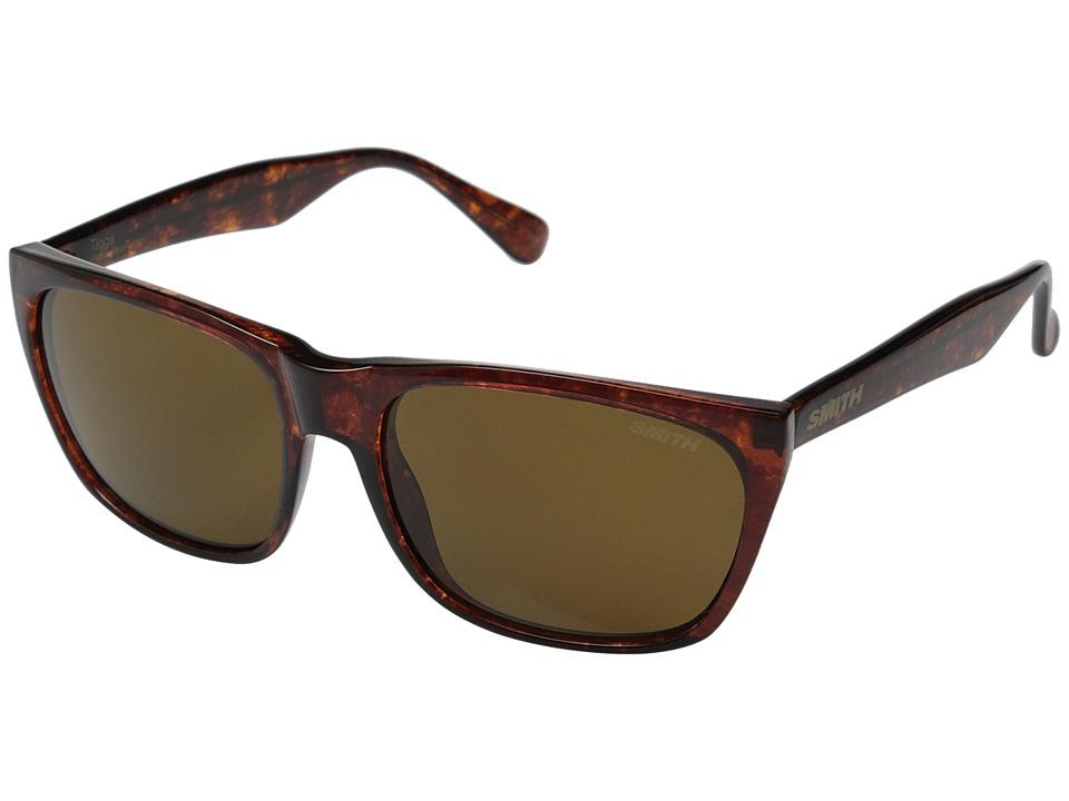 Smith Optics - Tioga (Vintage Havana/Polar Brown Carbonic TLT Lenses) Fashion Sunglasses