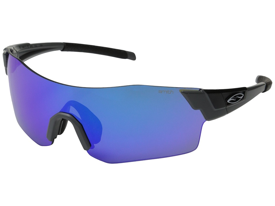 Smith Optics - Pivlock Arena (Matte Cement/Blue Sol-X/Lgnitor/Clear Carbonic TLT Lenses) Fashion Sunglasses