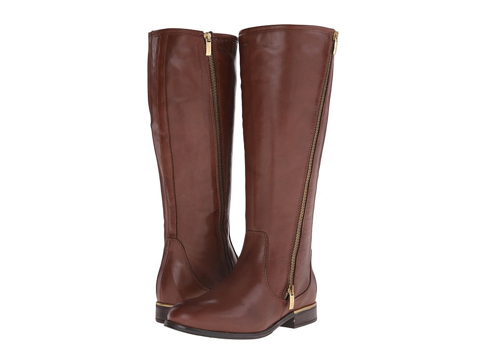 Eric Michael - Newton (Tan) Women's Zip Boots
