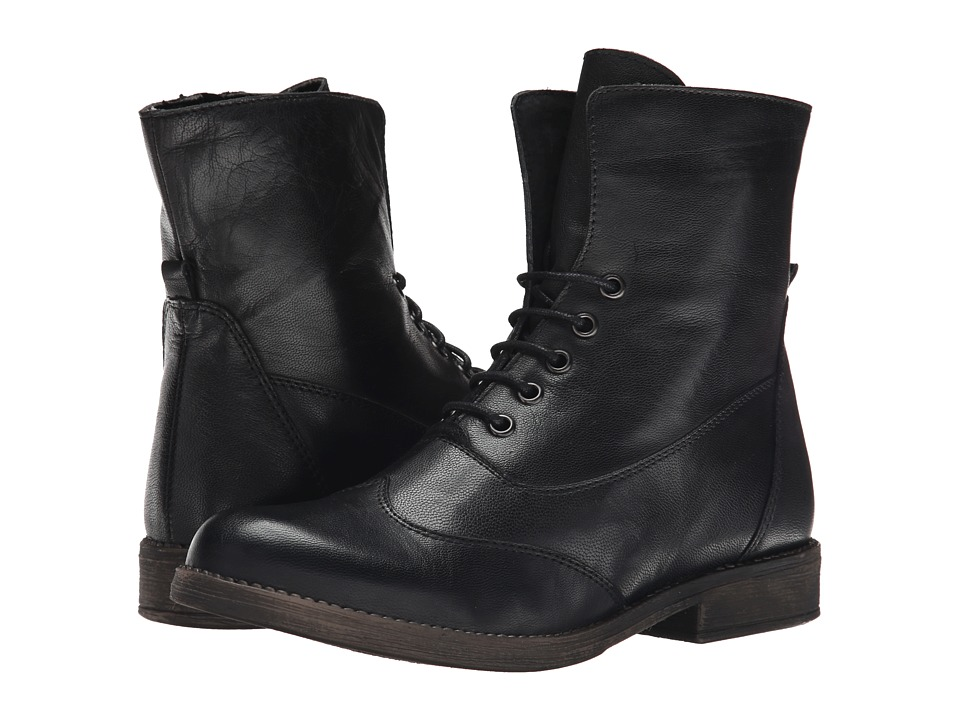 Eric Michael - Riley (Black) Women's Lace-up Boots