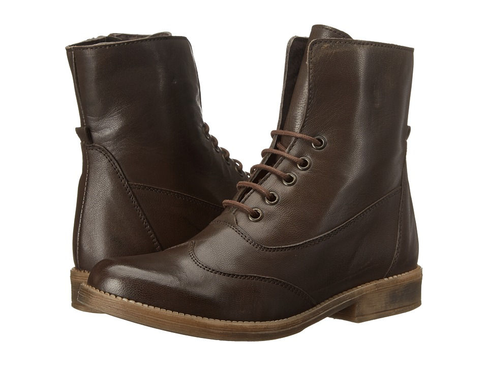 Eric Michael - Riley (Brown) Women's Lace-up Boots