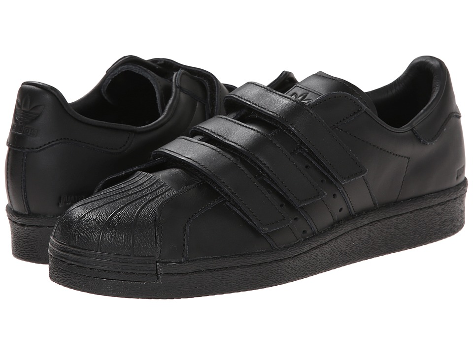 adidas by Juun. J - Superstar 80s (Black/Black/Black) Shoes