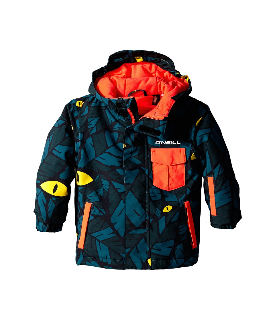 O'Neill Kids - Prince Jacket (Toddler/Little Kids) (Green/Blue) Boy's Coat