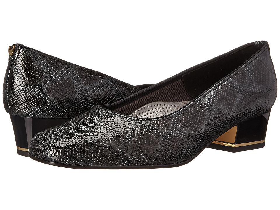 ara - Gada (Black Snake Print) Women's 1-2 inch heel Shoes