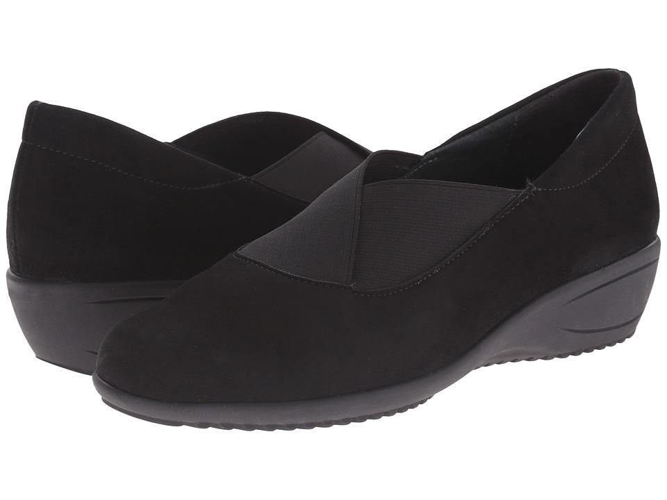 ara - Lael (Black Suede) Women's Shoes