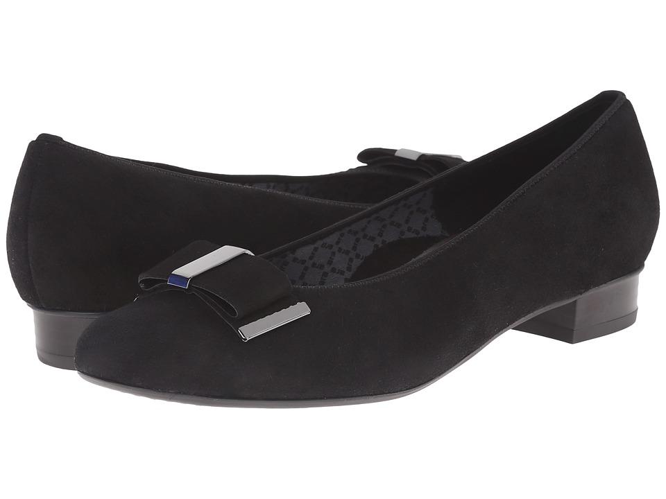 ara - Bev (Black Suede) Women's Shoes