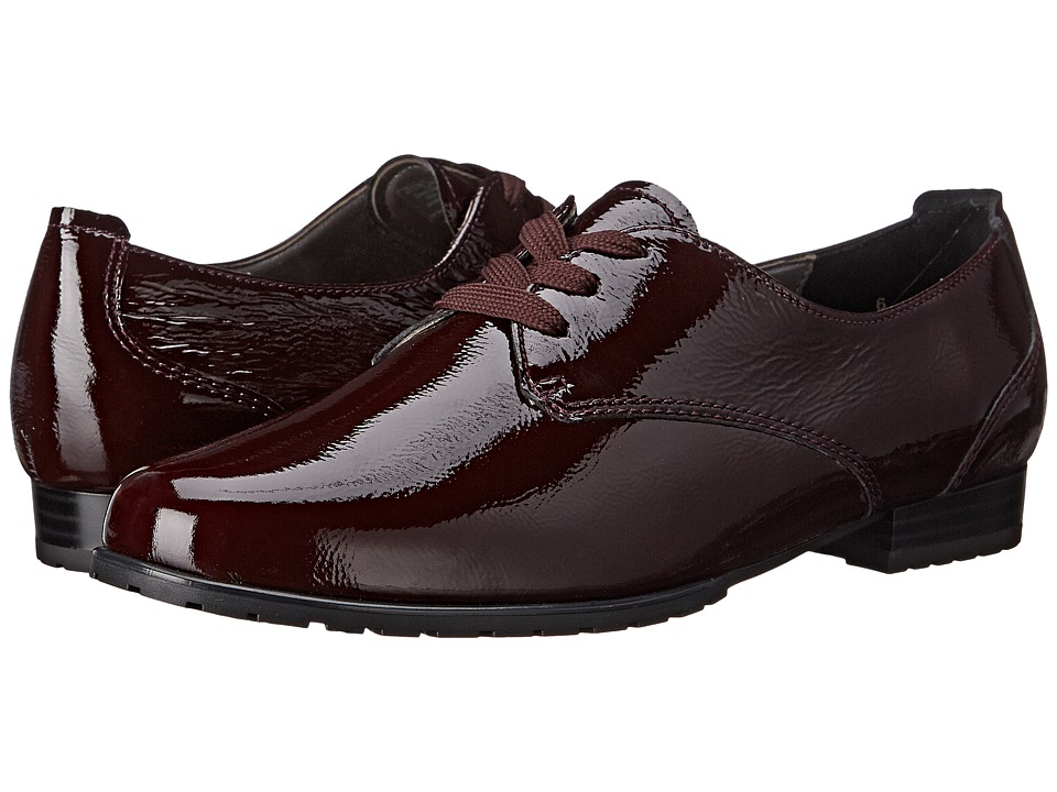 ara - Katherine (Burgundy Crinkle Patent) Women's Shoes