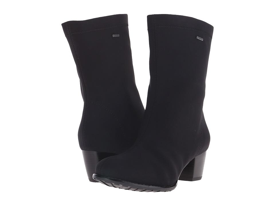 ara - Fairfax (Black Fabric) Women's Shoes
