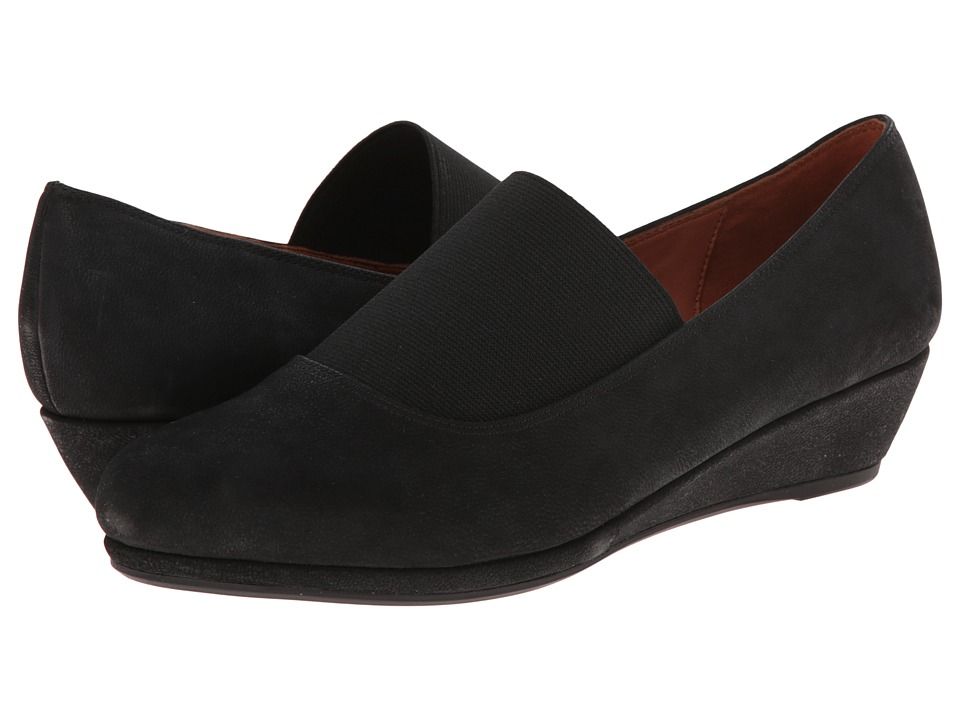 Gentle Souls - Nova (Black Nubuck) Women's Shoes