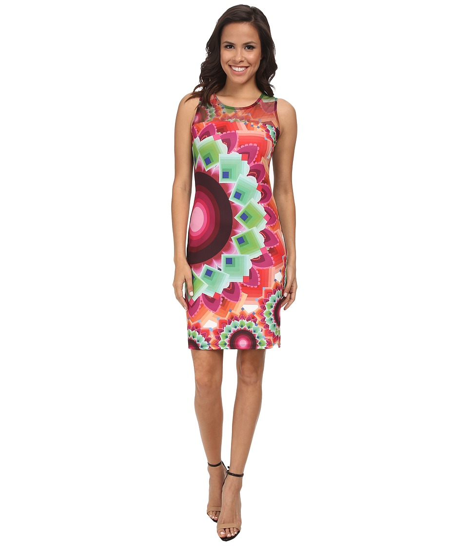 Desigual - Adriana Sleeveless Knitted Dress (Pink) Women