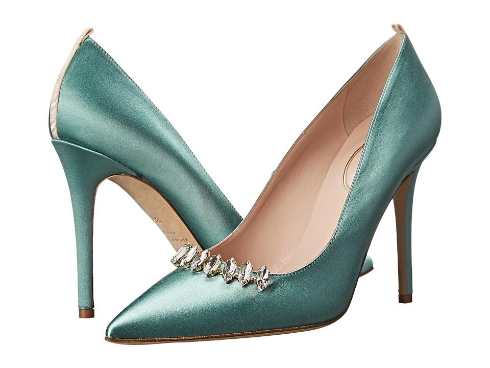 SJP by Sarah Jessica Parker - Valentina (Moss Satin) High Heels