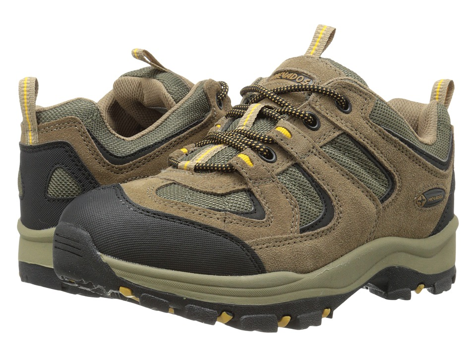 Nevados - Boomerang II Low (Brown/Olive/Yellow) Men's Shoes