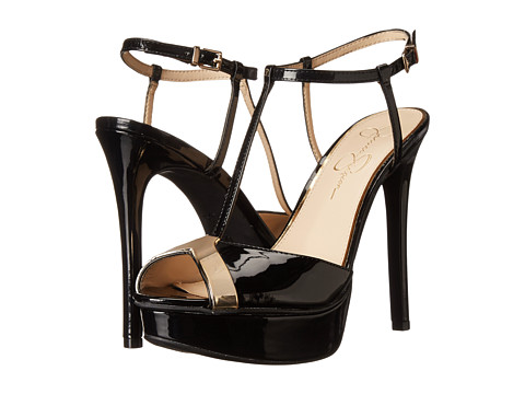 Jessica Simpson - Carys (Black Patent) High Heels