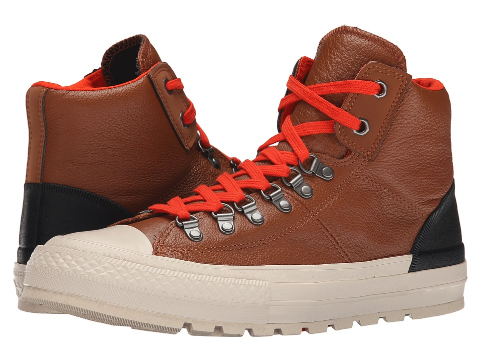 Converse - Chuck Taylor All Star Street Hiker (Pinecone Brown/Parchment/Fire) Men's Classic Shoes