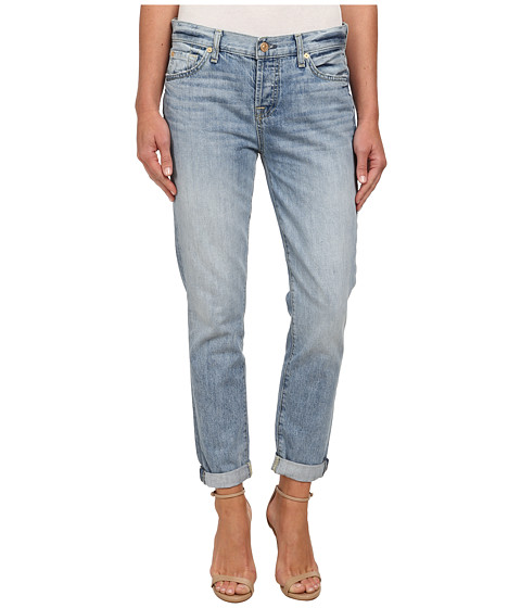 7 For All Mankind - Josefina in Aura Blue Heritage (Aura Blue Heritage) Women's Jeans
