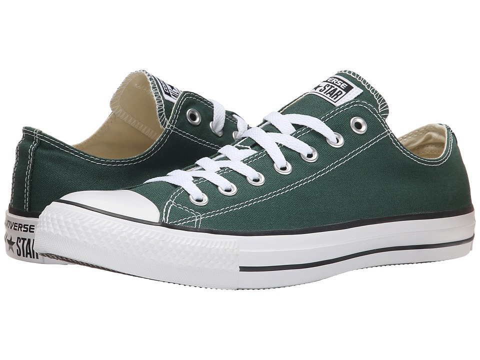Converse - Chuck Taylor All Star Seasonal Ox (Gloom Green) Athletic Shoes