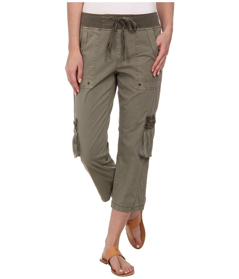 XCVI - Rhea Crop Pants (Oregano) Women's Casual Pants