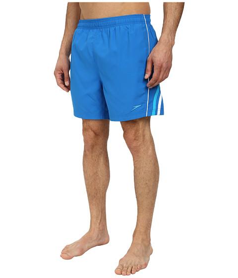 Speedo - Horizontal Splice Volley (Vivid Blue) Men
