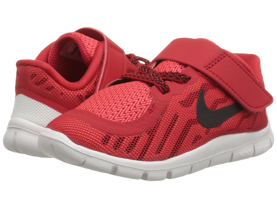Nike Kids - Free 5 (Infant/Toddler) (University Red/Bright Crimson/White/Black) Boys Shoes