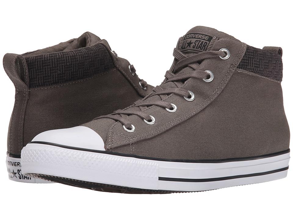 Converse - Chuck Taylor All Star Street Hi (Charcoal/Black/White) Men