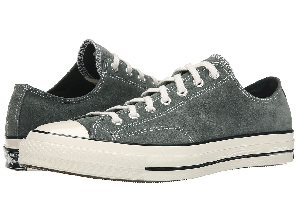 Converse - Chuck Taylor All Star 70 Ox Suede (Charcoal/Black/Egret) Men's Classic Shoes