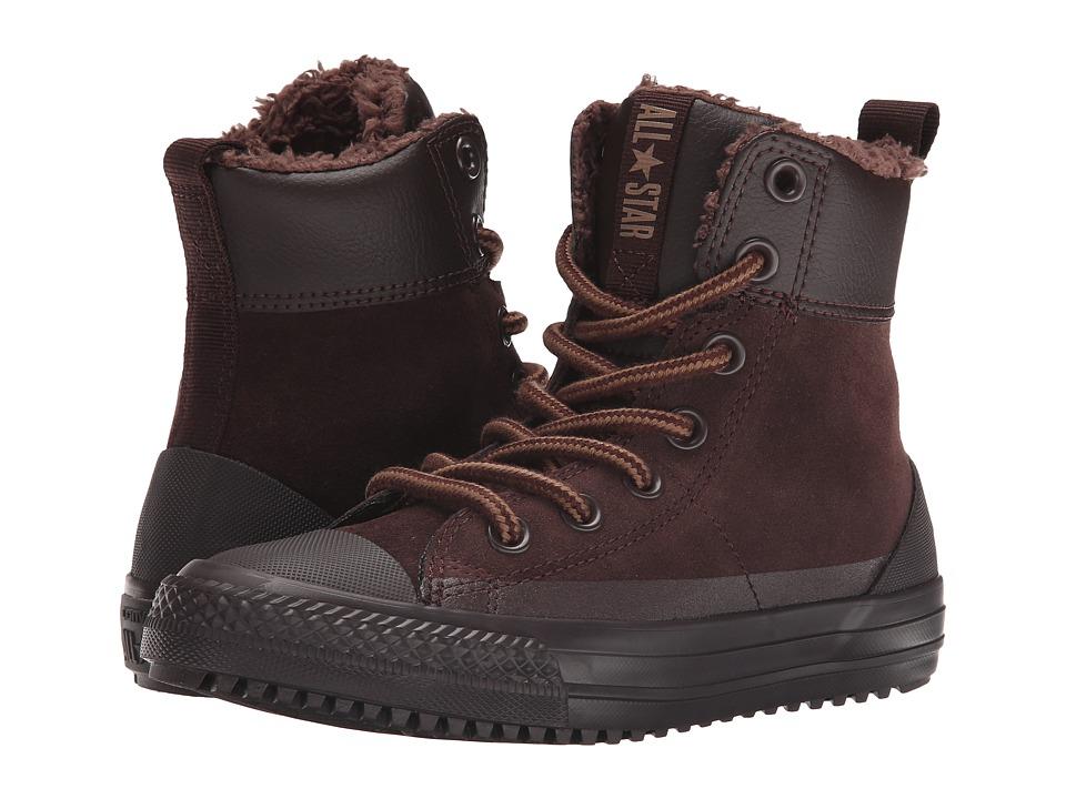 Converse Kids - Chuck Taylor All Star Asphalt Boot (Little Kid/Big Kid) (Burnt Umber/Sand Dune) Boys Shoes