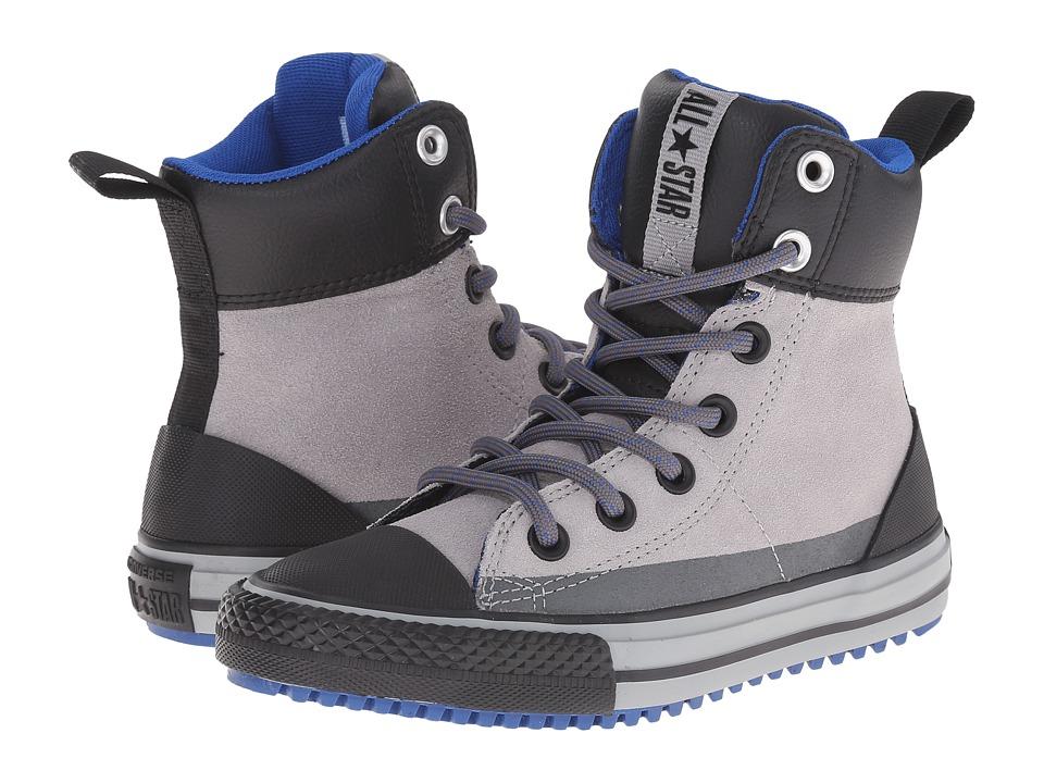 Converse Kids - Chuck Taylor All Star Asphalt Boot (Little Kid/Big Kid) (Dolphin/Black/Blue) Boys Shoes