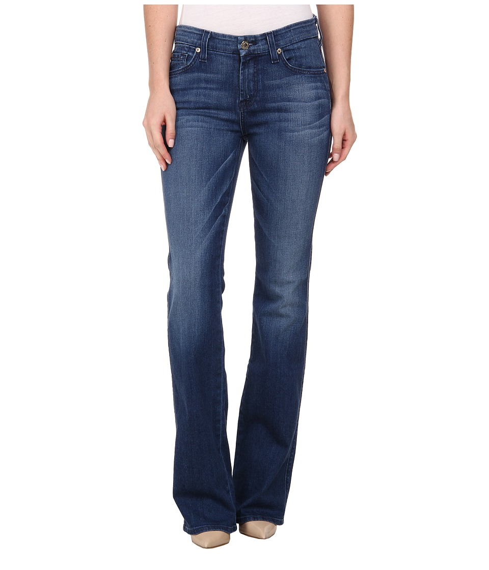 7 For All Mankind - Kimmie Bootcut in Lake Dillon Medium Bright (Lake Dillon Medium Bright) Women's Jeans
