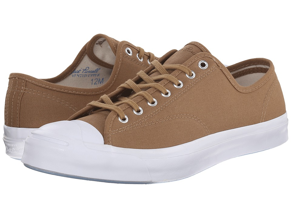 Converse - Jack Purcell Signature Ox (Sand Dune/Natural/White) Men's Classic Shoes