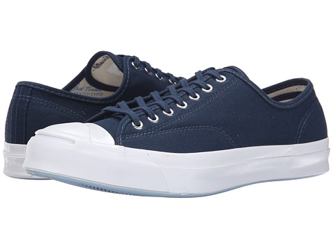 Converse - Jack Purcell Signature Ox (Nighttime Navy/Natural/White) Men's Classic Shoes
