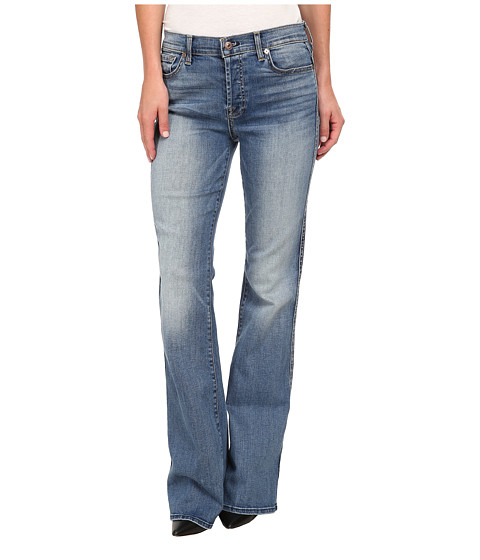 7 For All Mankind - Hight Waist Vintage Bootcut in Sloan Heritage Medium Light (Sloan Heritage Medium Light) Women's Jeans