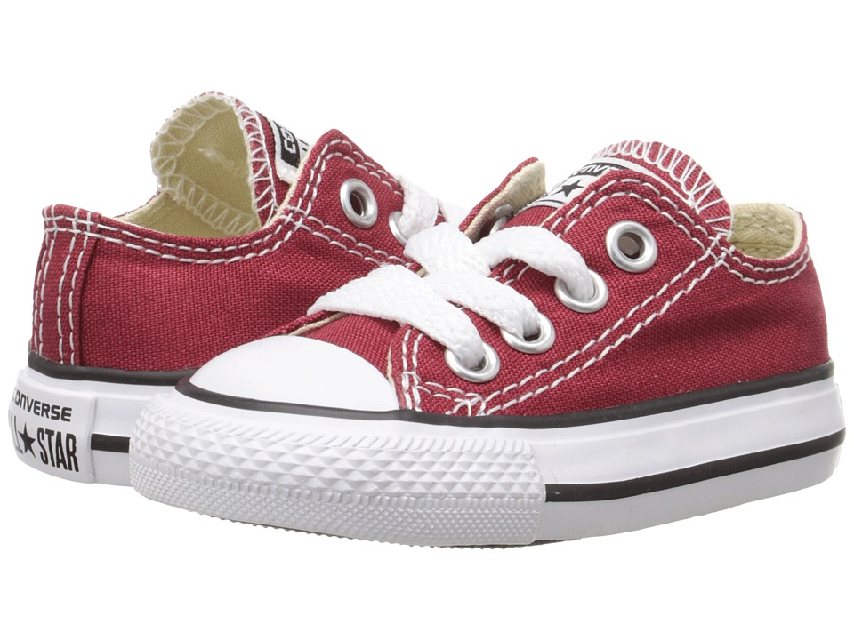Converse Kids - Chuck Taylor All Star Seasonal Ox (Infant/Toddler) (Chili Paste) Kids Shoes