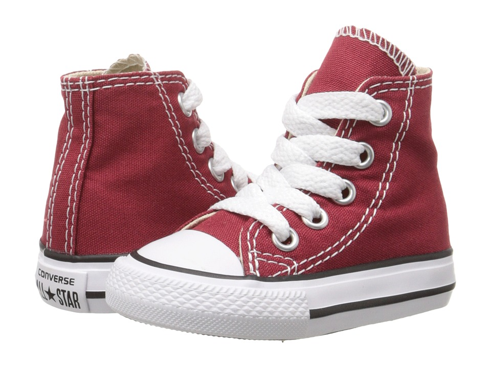 Converse Kids - Chuck Taylor All Star Seasonal Hi (Infant/Toddler) (Chili Paste) Kids Shoes