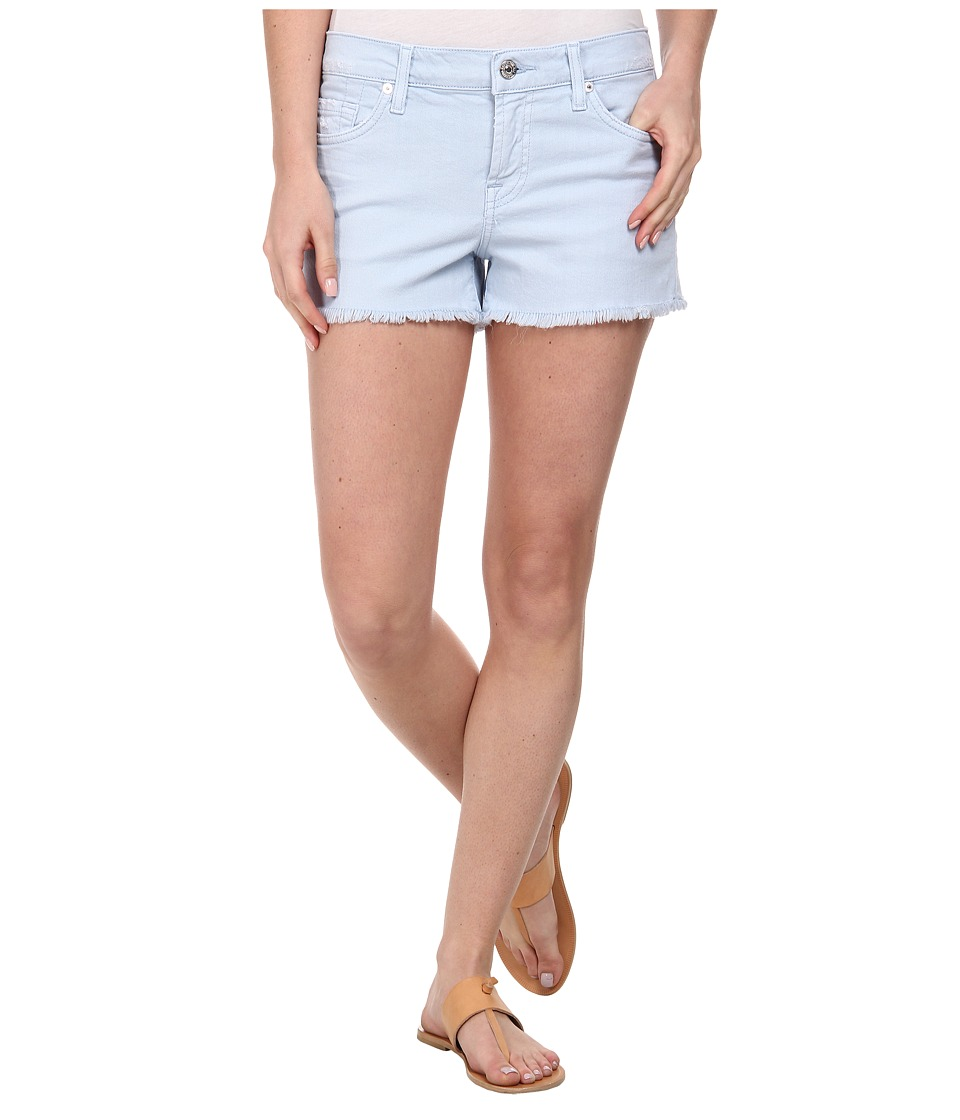 7 For All Mankind - Cut Off Shorts in Light Blue (Light Blue) Women's Shorts