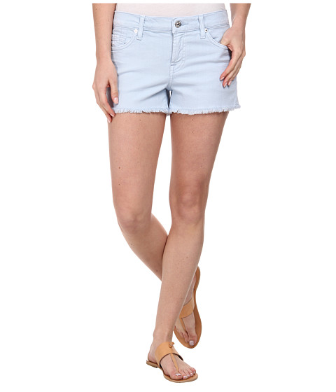 7 For All Mankind - Cut Off Shorts in Light Blue (Light Blue) Women