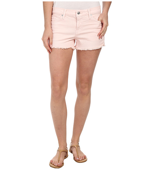 7 For All Mankind - Cut Off Shorts in Whisper Pink (Whisper Pink) Women