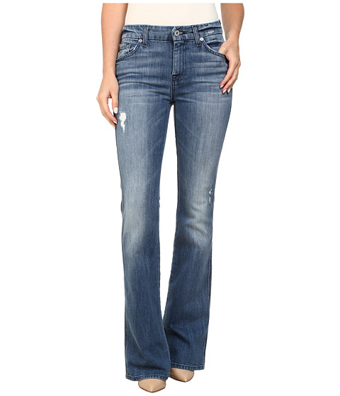 7 For All Mankind - A Pocket in Red Cast Heritage Blue (Red Cast Heritage Blue) Women's Jeans