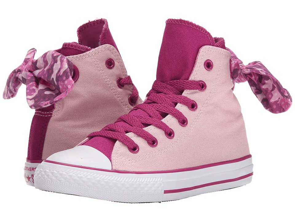 Converse Kids - Chuck Taylor All Star Bow Back Hi (Little Kid/Big Kid) (Pink Freeze/Pink Sapphire) Girls Shoes