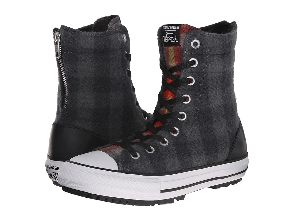 Converse - Chuck Taylor All Star Hi-Rise Woolrich Boot X-Hi (Thunder/Black/Casino) Women's Classic Shoes